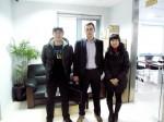 2012年3月,CODIPRO中国区负责人莅临我司,双方达成深入友好的合作共识,并给予我司最新价目表!