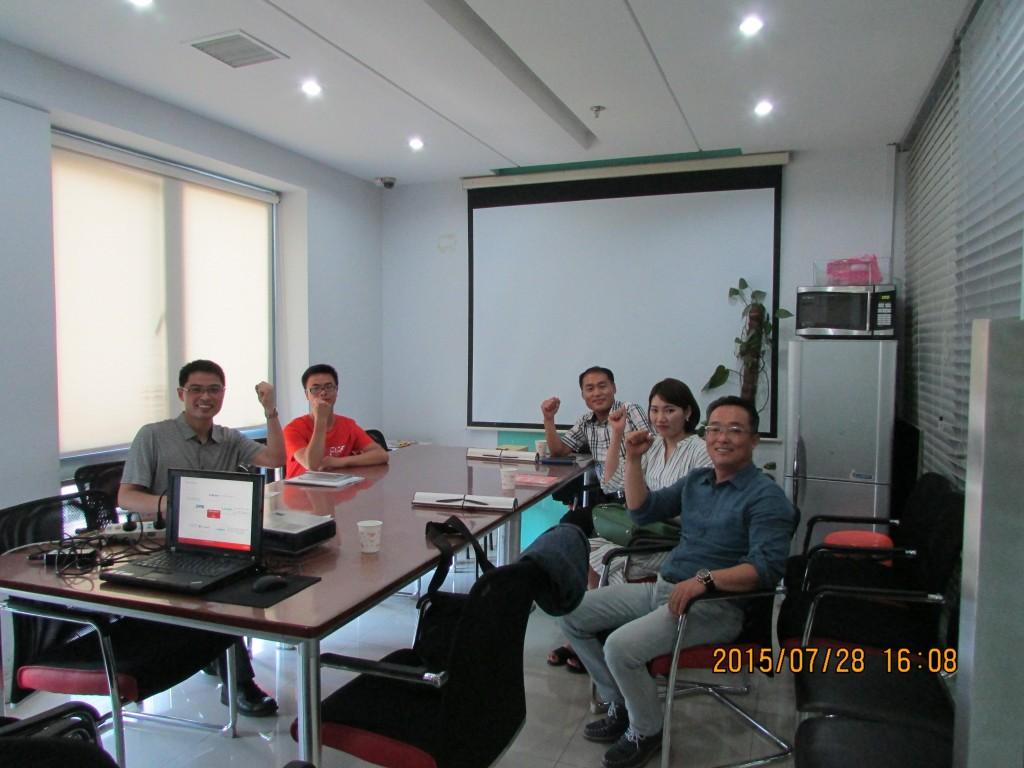 INNODIS工厂CEO Hea Shin Park、总经理Sun WookKim等人专程来我司交流考察