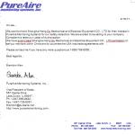 PureAire公司授权上海航欧中国区独家代理